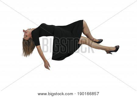 Beautiful Floating Woman