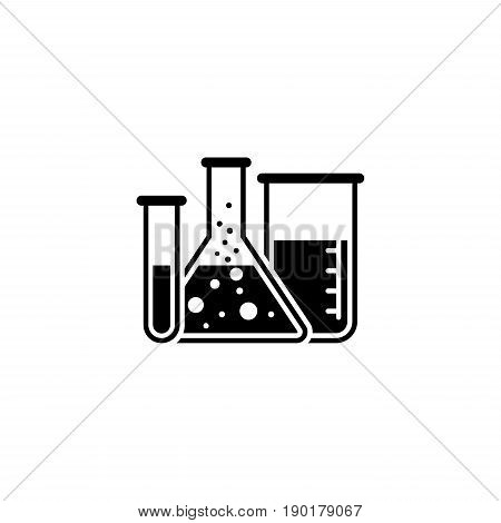 Laboratory and Medical Services Icon. Flat Design. Isolated.