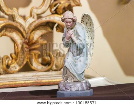 Statue Of An Angel At Loreta, Prague
