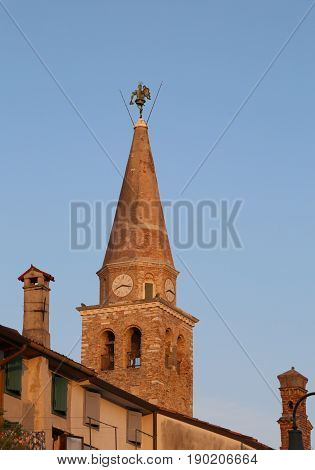 Basilica Of St. Euphemia In The Town Of Grado In Northern Italy