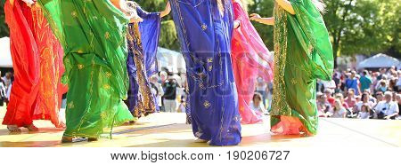 Colorful Skirts Of Belly Dancers