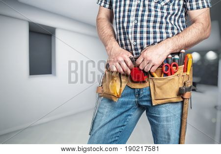 carpenter detail and interior background