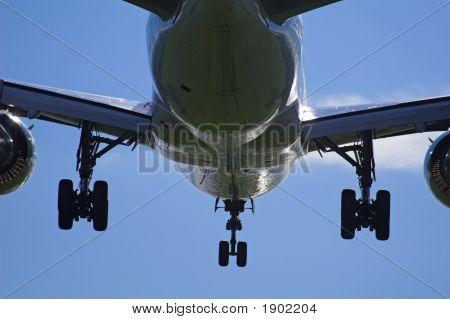 Landing Close-Up
