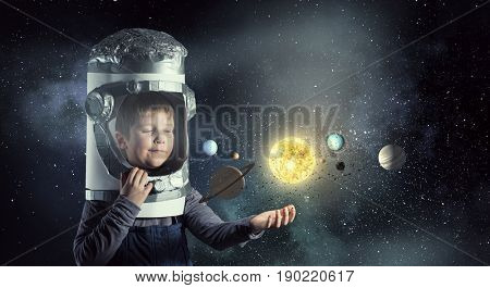 He want to become astronaut