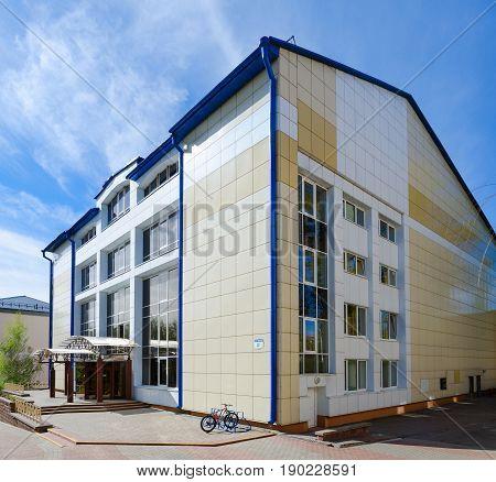 VITEBSK BELARUS - MAY 17 2017: Sports complex