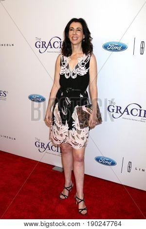 LOS ANGELES - JUN 6:  Aline Brosh McKenna at the 42nd Annual Gracie Awards at the Beverly Wilshire Hotel on June 6, 2017 in Beverly Hills, CA