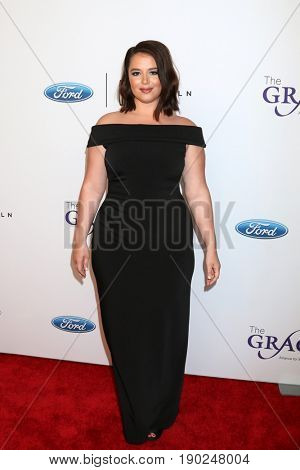 LOS ANGELES - JUN 6:  Kether Donohue at the 42nd Annual Gracie Awards at the Beverly Wilshire Hotel on June 6, 2017 in Beverly Hills, CA