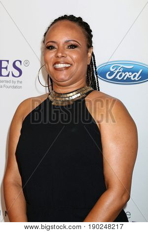 LOS ANGELES - JUN 6:  Rikki Hughes at the 42nd Annual Gracie Awards at the Beverly Wilshire Hotel on June 6, 2017 in Beverly Hills, CA