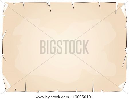 Background Pattern, Old Vintage Grunge Brown Paper Background or Texture with Copy Space for Text Decorated.