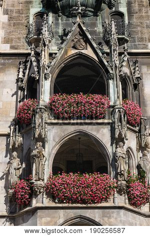 Alcoves At  Marienplatz, Munich Germany