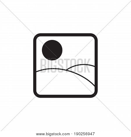 Photo Gallery and Picture solid icon, Modern sign for mobile interface, vector graphics, a filled pattern on a white background, eps 10.