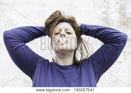 Women Stuffy Silence