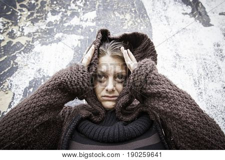 Girl Desperately Poor
