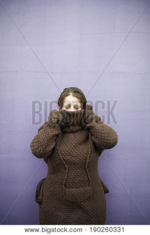 Terrified Woman