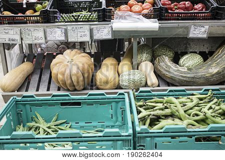 Green Beans In Greengrocers