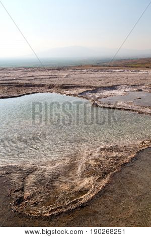 Bath And Travertine     Abstract