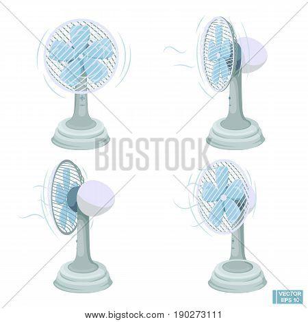 Set Of Ventilator For Room