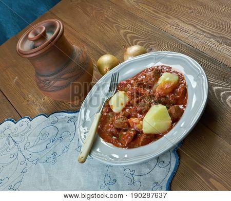 Cape Malay Mutton Stew