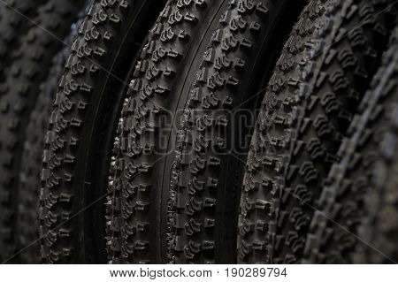 Warehouse number of spare tires for bicycle wheels