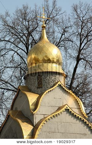 Russian church. Novodevichiy Conven