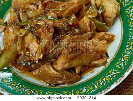 Thai Stir Fry Chicken