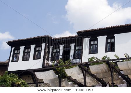 Old Bulgarian house