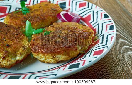 Bengali Cod Fish Kebabs