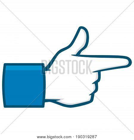 A vector illustration of a Bang Bang Social Media Icon.