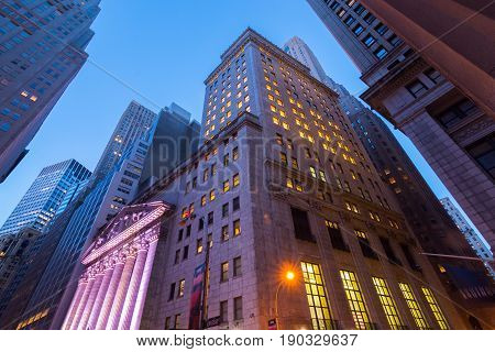 New York Stock Exchange. Six twenty two in the morning of Feb. 25 2016. New York New York