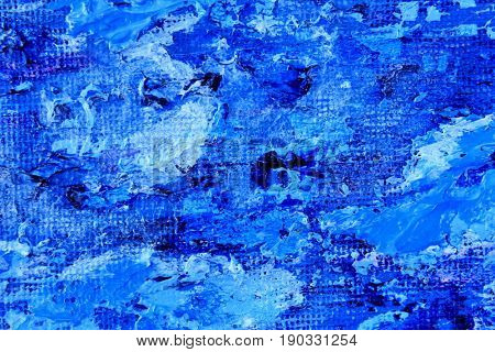 Blue White and Green Paint Textures 3