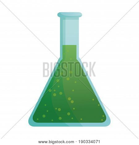 scientific glassware test tube laboratory chemical vector illustration