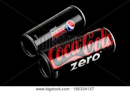 Pepsi And Coca-cola Can