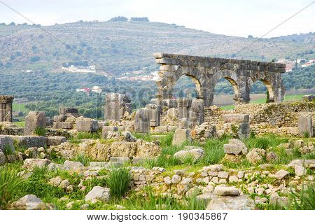 Volubilis  Morocco Africa The Old