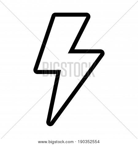 line energy hazard sign to electrical warning vector illustration