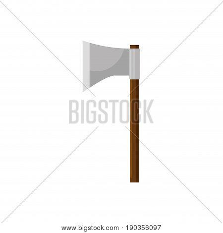 hatchet ax cut vector illustration graphic design icon