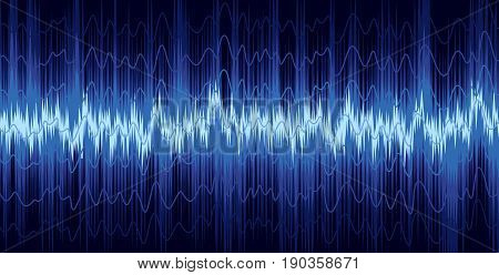 A background with a loud sound scale.