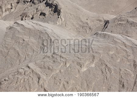 Stones on a gravel quarry. Construction background