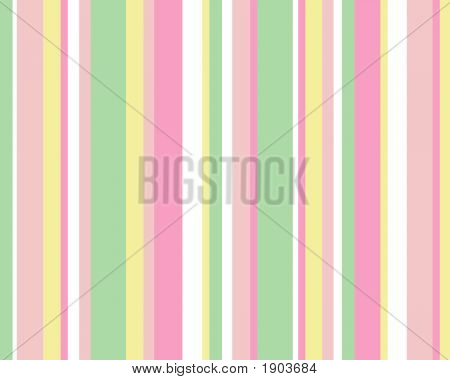 Pink Green Yellow Striped Background