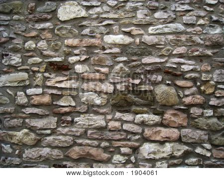 Stone Wall For Texture