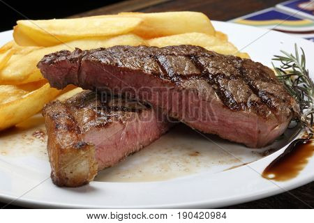 Picanha Steak with fries