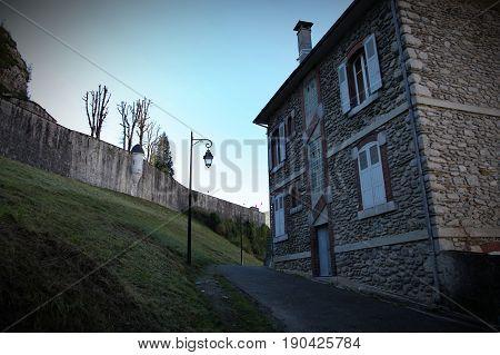 House in Lourdes architecture, building, destination europe old
