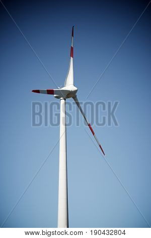 Windmill for electric power production, Black Forest, Germany.