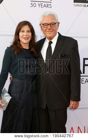 LOS ANGELES - JUN 8:  Lauren Shuler Donner, Richard Donner at the American Film Institute's Lifetime Achievement Award to Diane Keaton at the Dolby Theater on June 8, 2017 in Los Angeles, CA