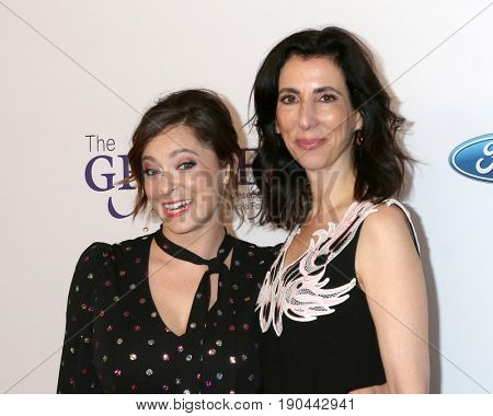 LOS ANGELES - JUN 6:  Rachel Bloom, Aline Brosh McKenna at the 42nd Annual Gracie Awards at the Beverly Wilshire Hotel on June 6, 2017 in Beverly Hills, CA