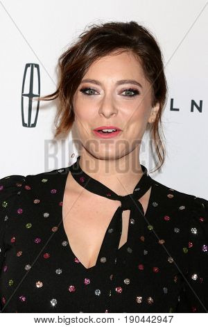 LOS ANGELES - JUN 6:  Rachel Bloom at the 42nd Annual Gracie Awards at the Beverly Wilshire Hotel on June 6, 2017 in Beverly Hills, CA