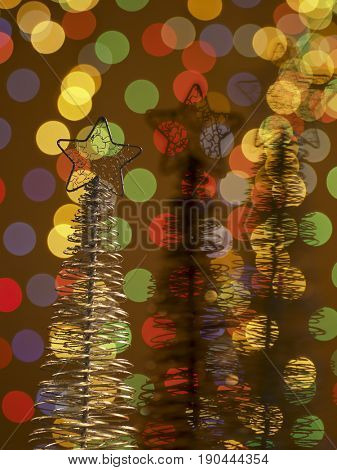 decorative x'mas trees