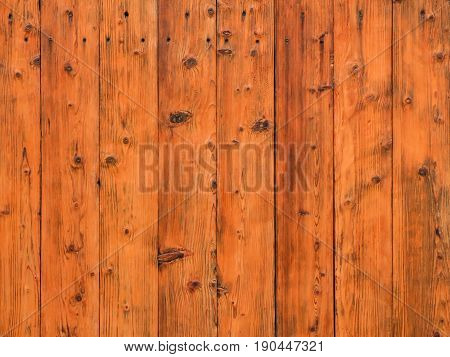 The wooden slats. Wood texture. Brown background