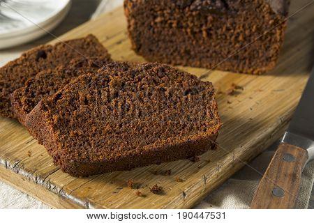 Sweet Homemade Chocolate Loaf Cake