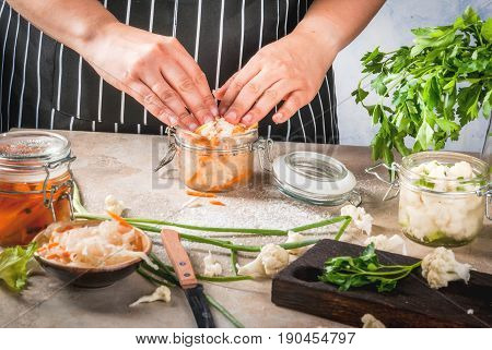 Cooking Fermented Preserved  Food