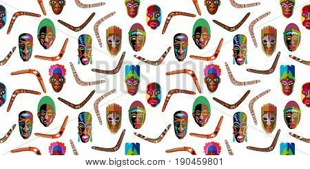 Inspired by aboriginal art. Ethnic textile collection. On white background.